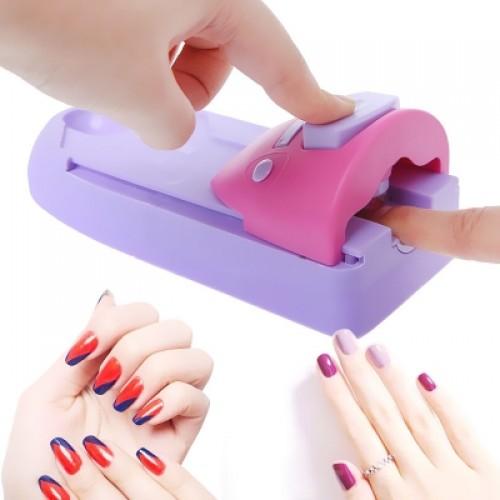 Easy Printing Pattern Stamp Manicure Machine Stamper Tool Set