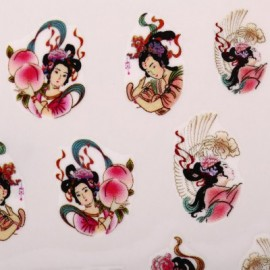 10pcs Nail Art Decoration Sticker