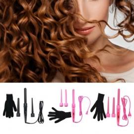 3 Parts Clip Curling Iron Hair Curler Set