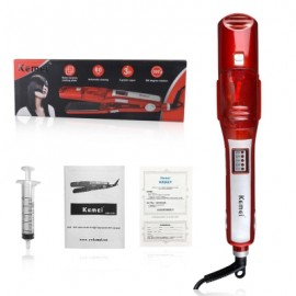 Kemei KM-3011 Hair Straightener Comb Ceramic Hair Iron Electric Hair Straighteni
